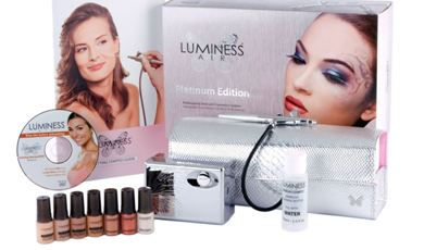 Luminess Air Platinum Multi-Speed Airbrush Makeup System - Tan