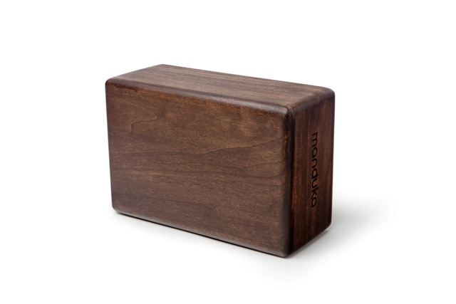 Manduka Artisan Wood Yoga Block