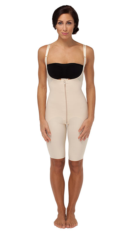 Marena Recovery Female Bodysuit With Open Buttocks and Short Legs - Stage 1 (FBOS)