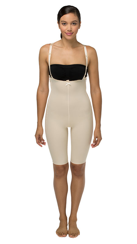 Marena Recovery High Back Mid Body Cosmetic Surgery Compression Garment - Above Knee - Stage 1 (FBS)