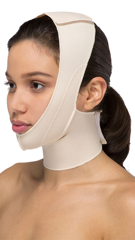 Chin Strap Facial Surgery Compression Garment - PLEASE SELECT CORRECT LENGTH (3 Different Lengths)