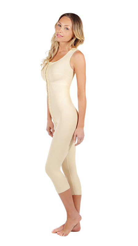 51b7269180e Marena Full Body Below Knee Post-Surgical Compression Garment ...