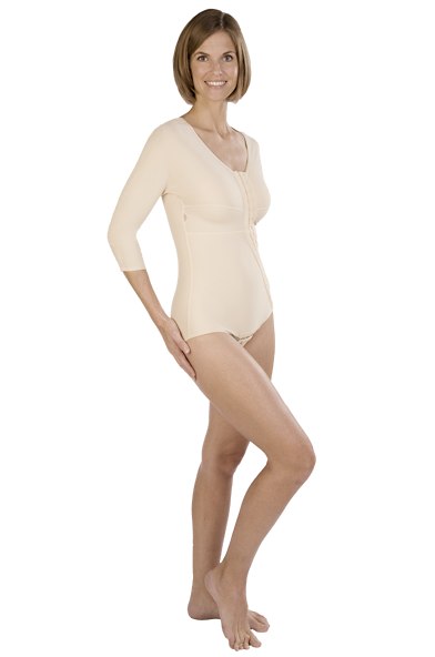 Marena Full Torso Reinforced Bodysuit With No Leg Coverage - REFURBISHED