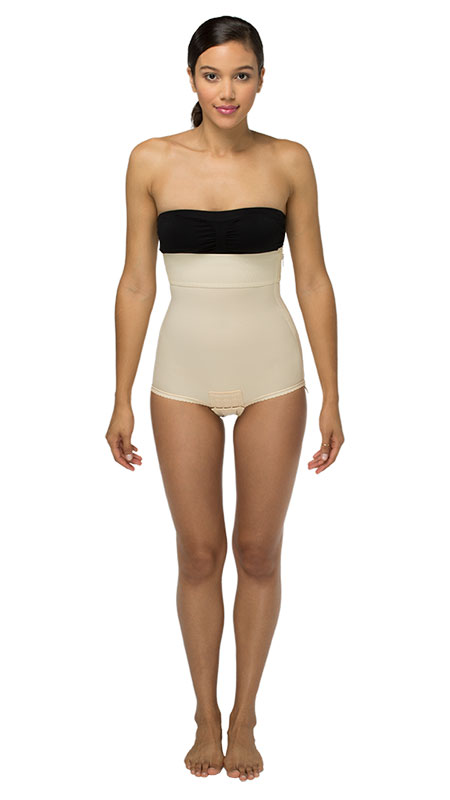 Mid Body Cosmetic Surgery Compression Garment - Brief - Stage One (Marena)