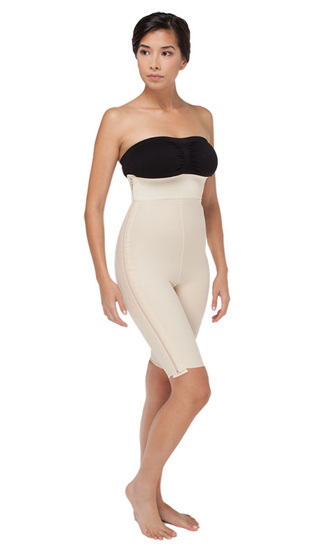 Mid Body Compression Girdle - Above the knee w/ Separating Zippers - Stage 1