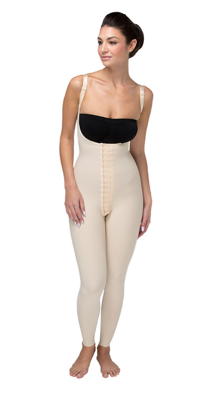 Marena Recovery Ladies' Compression Girdle with High Back and Ankle-Length Coverage - Stage 1 (SFBHL)