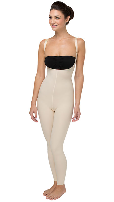 Marena Recovery Ladies' Compression Girdle with High Back and Ankle-Length Coverage - Stage 2 (SFBHL2)