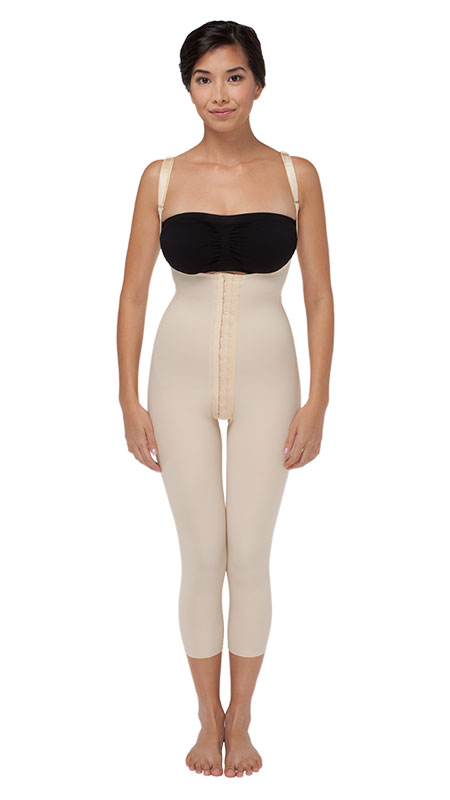 Marena Recovery Ladies' Compression Girdle With High Back And Mid-Calf Coverage - Stage 1 (SFBHM)