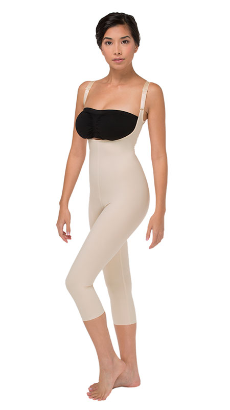 Marena Recovery Ladies' Compression Girdle With High Back And Mid-Calf Coverage - Stage 2 (SFBHM2)
