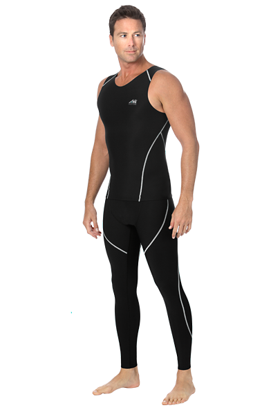 Marena Athletics8 Men's Exercise Compression Pants - Stage 3 (A8-603)