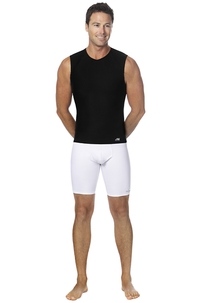 Marena Athletics8 Men's Sleeveless Compression T-Shirt - Stage 3 (A8-501)