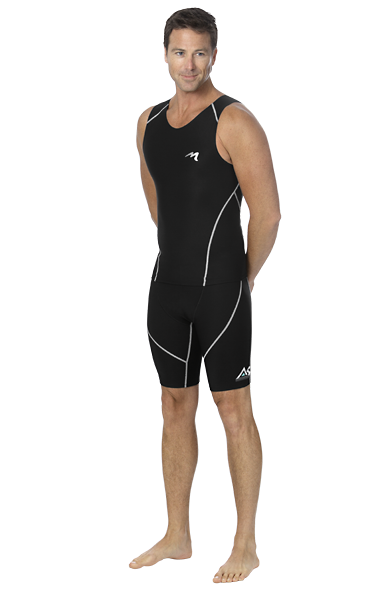Marena Athletics8 Men's Compression Exercise Shorts - Stage 3 (A8-602)