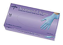 Accutouch Chemo Powder-Free, Latex-Free, Nitrile Exam Gloves, MD (10 boxes)
