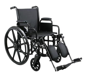 Excel K3 Wheelchair w/ Removable Arms and Detachable Elevating Legrests (16