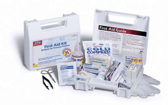 General First Aid Kit, 106-pieces, 25-People