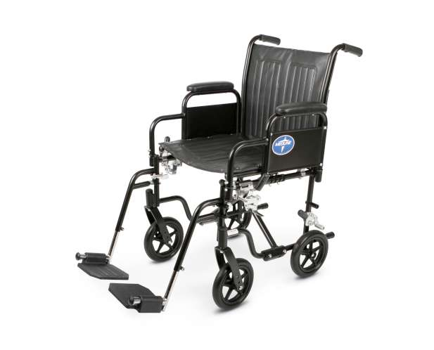 Hybrid Wheelchair (Standard and Transport Combo) Removable Desk Arms, Swingaway Footrests