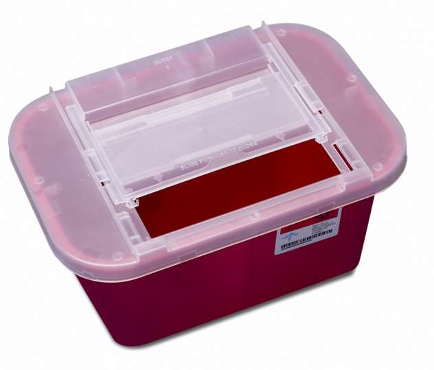 Portable Sharps Container, 1gal (case of 32)