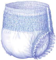 Protection Plus Disposable Youth Underwear, 40-70lbs (bag of 17)