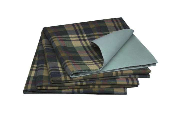 Sofnit 300 Underpads With a Stylish Tartan Print (34x36in) (Case of 24 - priced by dz)