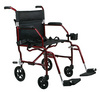 Ultralight Transport Chair (19in red)