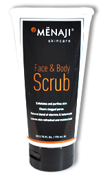 Menaji Face & Body Scrub