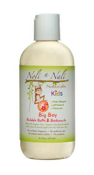Noli n Nali Big Boy Bubble Bath & Body Wash
