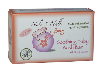 Noli n Nali Soothing Baby Wash Bar