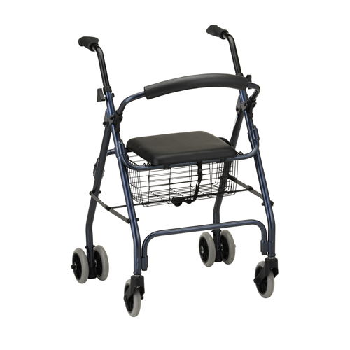 Nova Medical Cruiser Classic Rolling Walker Blue