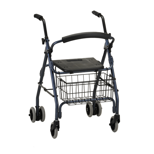 Nova Medical Cruiser Rolling Walker Blue
