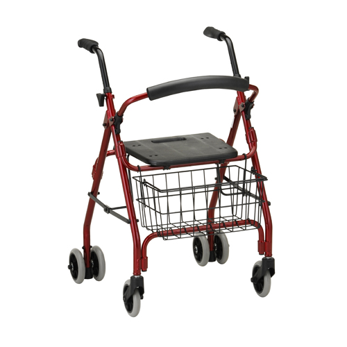 Nova Medical Cruiser Rolling Walker Red