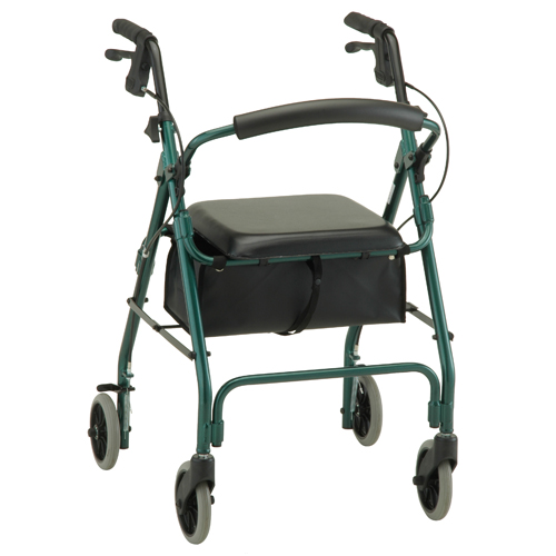 Nova Medical GetGO Classic Rolling Walker Green