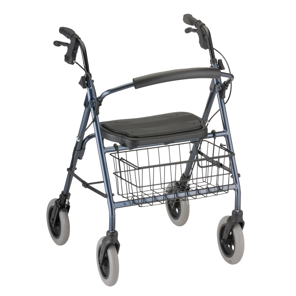 Nova Medical Mack Heavy Duty Rolling Walker