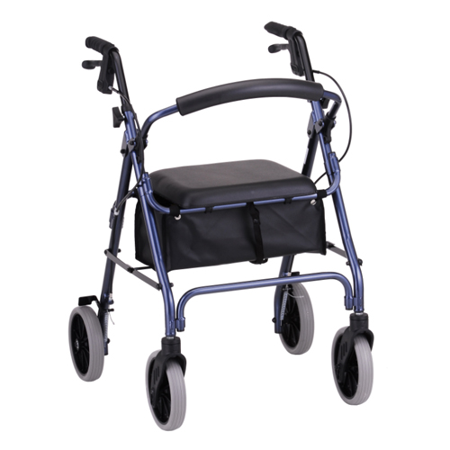 Nova Medical ZOOM 22 Rolling Walker Blue