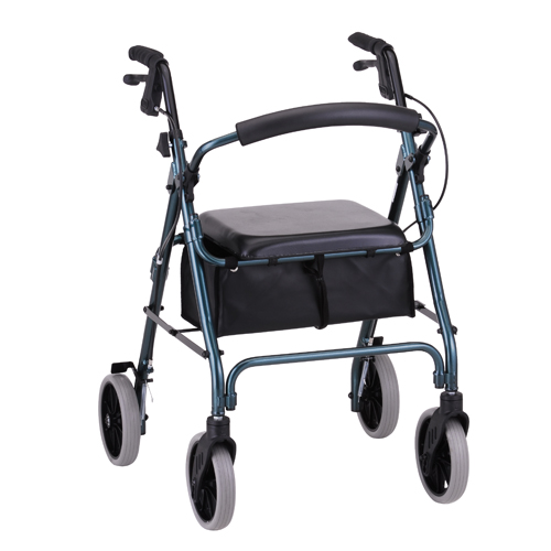 Nova Medical ZOOM 22 Rolling Walker Green
