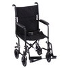 "Nova Medical 19"" Lightweight Transport Chair Black"
