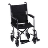 "Nova Medical 19"" Steel Transport Chair Black"