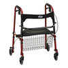 Nova Medical Cruiser De-Light Rolling Walker Red