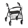 Nova Medical Cruiser Deluxe Rolling Walker Black