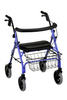 Nova Medical Cruiser Deluxe Rolling Walker Purple