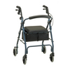 Nova Medical GetGO Classic Rolling Walker Blue