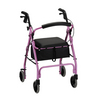 Nova Medical GetGO Classic Rolling Walker Pink