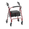 Nova Medical GetGO Classic Rolling Walker Red