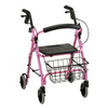 Nova Medical GetGO Petite Rolling Walker Pink