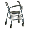 Nova Medical GetGO Rolling Walker Blue