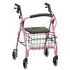 Nova Medical GetGO Rolling Walker Pink