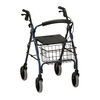 Nova Medical GetGO Tall Rolling Walker Blue