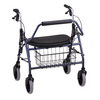 Nova Medical Mighty Mack Heavy Duty Rolling Walker Blue