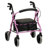 Nova Medical ZOOM 18 Rolling Walker Pink