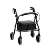 Nova Medical ZOOM 20 Rolling Walker Black
