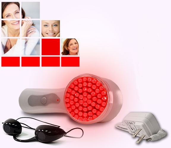Nutra Light Dual Light Home Phototherapy Anti-Aging & Acne LED Device System - Red & Blue Light